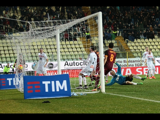 Carpi-Roma 1-3