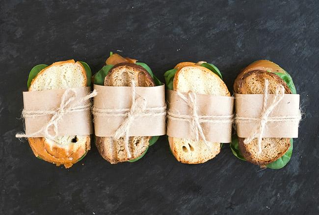 Tre panini per una pausa pranzo veloce e nutriente