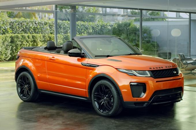 Range Rover Evoque Convertibile:il primo SUV compatto di lusso al mondo a cielo aperto