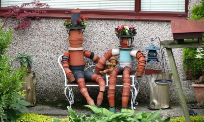 Vasi in terracotta decorazioni da giardino fai da te - Vasi terracotta da giardino ...