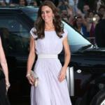 Kate Middleton principessa di Hollywood sul red carpet dei Bafta