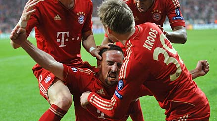 Champions League: Bayern-Real Madrid 2-1