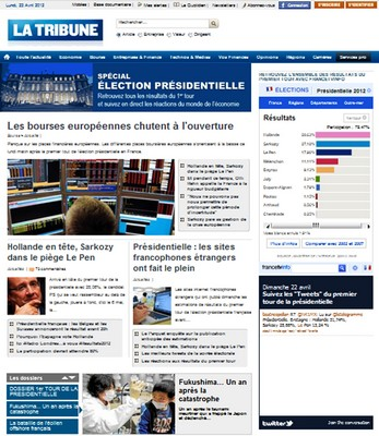 La Francia al voto, al primo turno vince Hollande. Le prime pagine dei giornali francesi