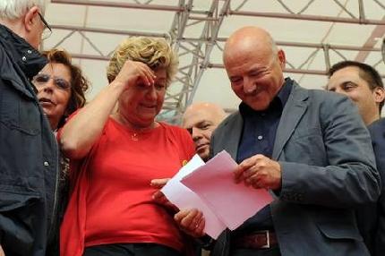 Rieti:  sindacati in piazza, tra crisi e disoccupazione