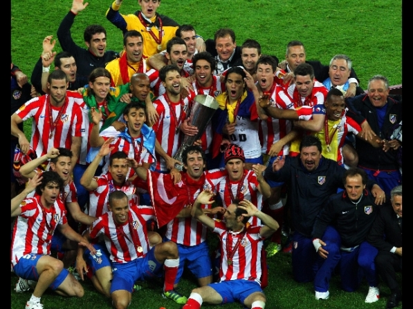 Calcio: l'Atletico Madrid vince l'Europa League