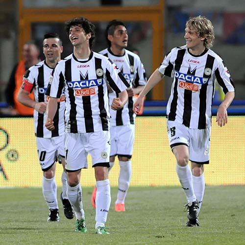 Serie A: Catania-Udinese 0-2