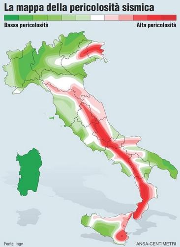 Il terremoto in Emilia, le mappe infografiche