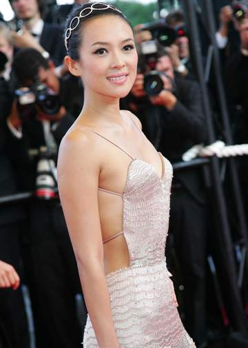 Zhang Ziyi, star del cinema cinese