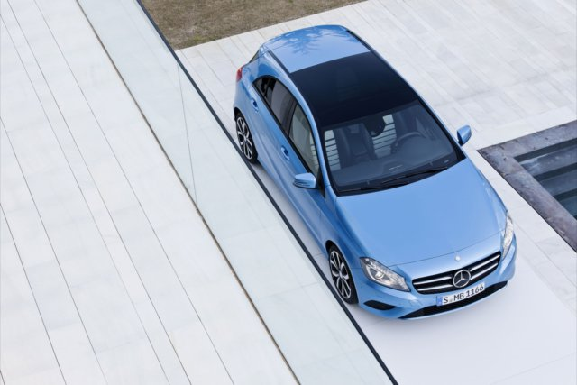 Mercedes-Benz Classe A, debutto in Italia