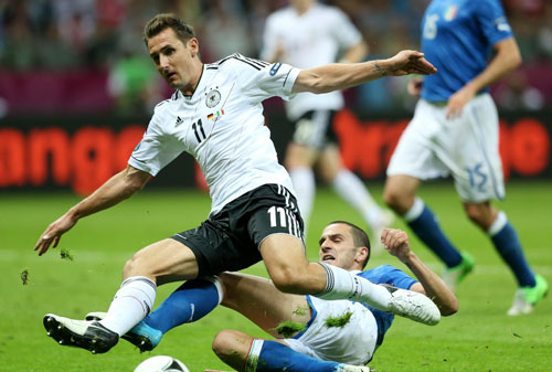 Euro2012: Germania-Italia 1-2