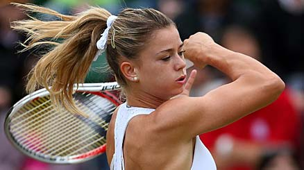 Tennis: Camila Giorgi