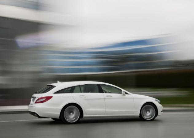 Mercedes-Benz CLS Shooting Brake, sportiva cinque porte