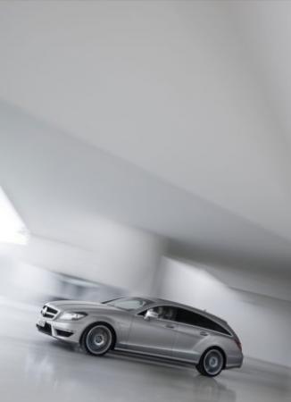 Mercedes-Benz CLS 63 AMG Shooting Brake, potenza e spazio