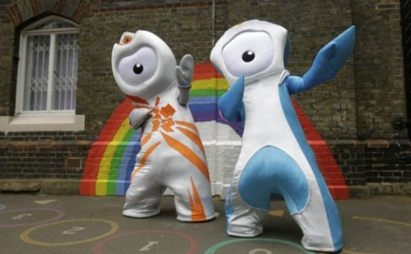 Le mascotte delle Olimpiadi 2012