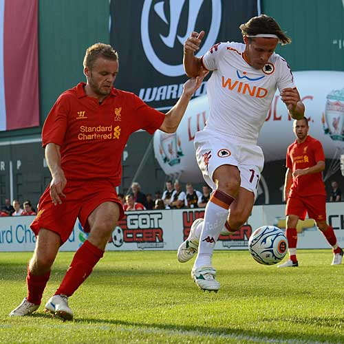 Calcio: Roma-Liverpool
