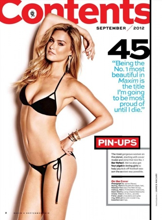 Bar Rafaeli rivela tutto su Maxim USA