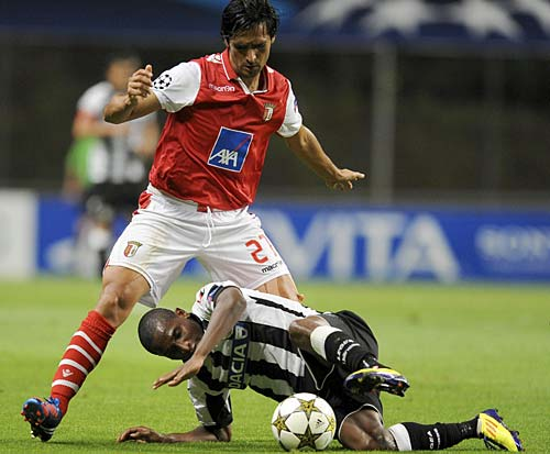 Champions League: Sporting Braga-Udinese 1-1