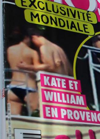 Kate Middleton nei guai: foto in topless in Provenza