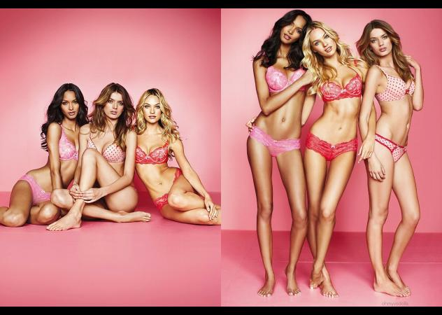 Body, Gli angeli di Victoria's Secret