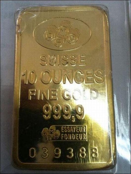 Investitori americani in allerta, sul mercato finti lingotti d'oro