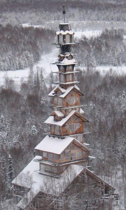 Una insolita casa con vista panoramica ultimata quella su for Piani casa costruiti per una vista