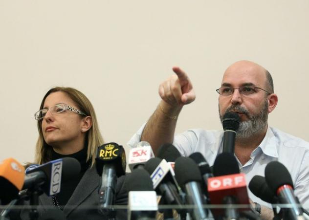 Roberta Lombardi (Camera) e Vittorio Crimi (Senato) i due capogruppo del Movimento 5 Stelle