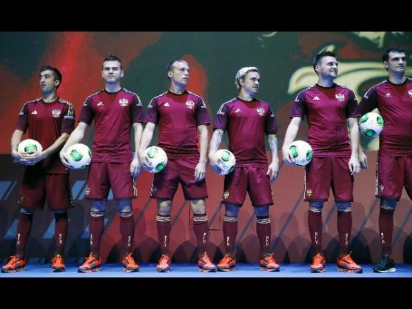 Presentate le nuove divise della nazionale russa di calcio