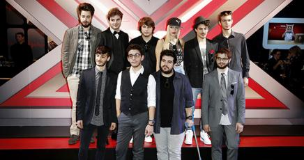 Al via X Factor8 con i 12 concorrenti, i giudici più Mara Maionchi e Tiziano Ferro