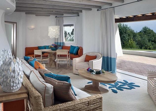 L 39 hotel romazzino a porto cervo il tempio del lusso sotto for Arredamento sardegna