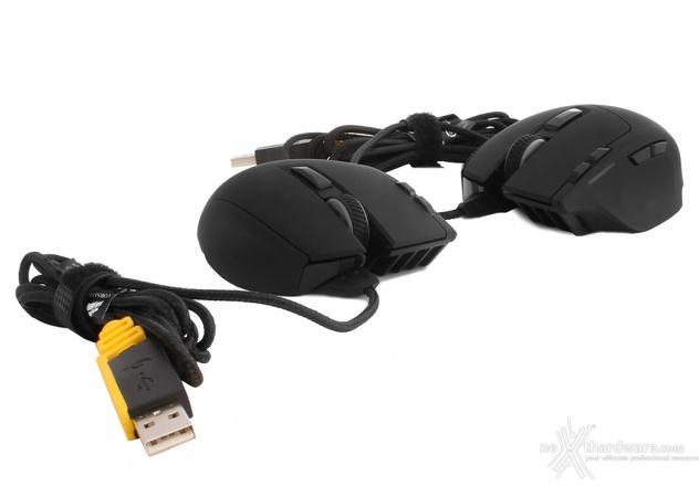 Corsair Gaming Sabre RGB Laser e Optical - Recensione