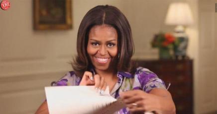 Michelle Obama rende social la Casa Bianca