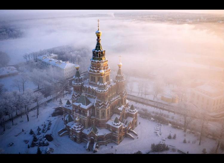Le foto più spettacolari scattate da un drone