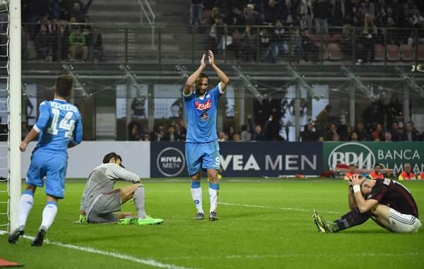 Milan-Napoli 0-4