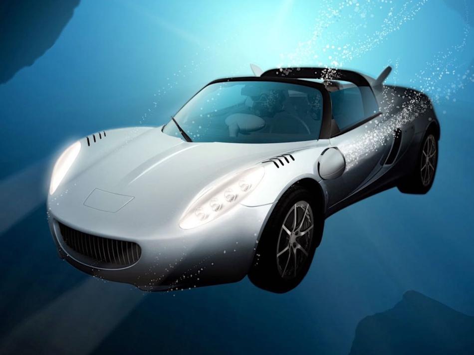 Rinspeed sQuba: l'auto sommergibile che andava davvero sott'acqua