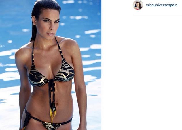 La Miss Universo spagnola? E' l'ex fidanzata di Morata