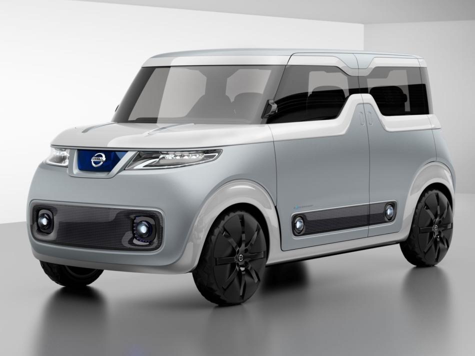 Nissan Teatro for Dayz: l'auto che viaggia nella rete e rivela l'umore dei passeggeri