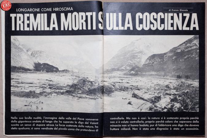 52 anni fa la tragedia del Vajont: quando l'acqua diventò morte