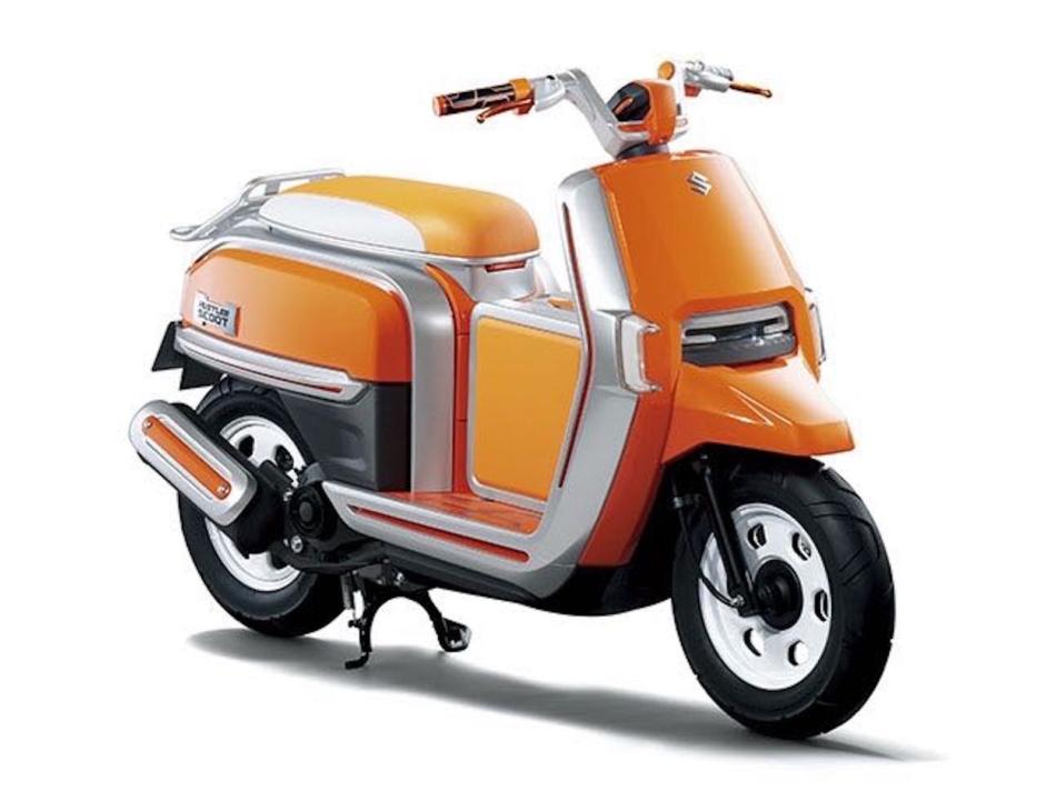 Suzuki moto: al 44° Salone di Tokio i concept Hustler Scoot e GSX
