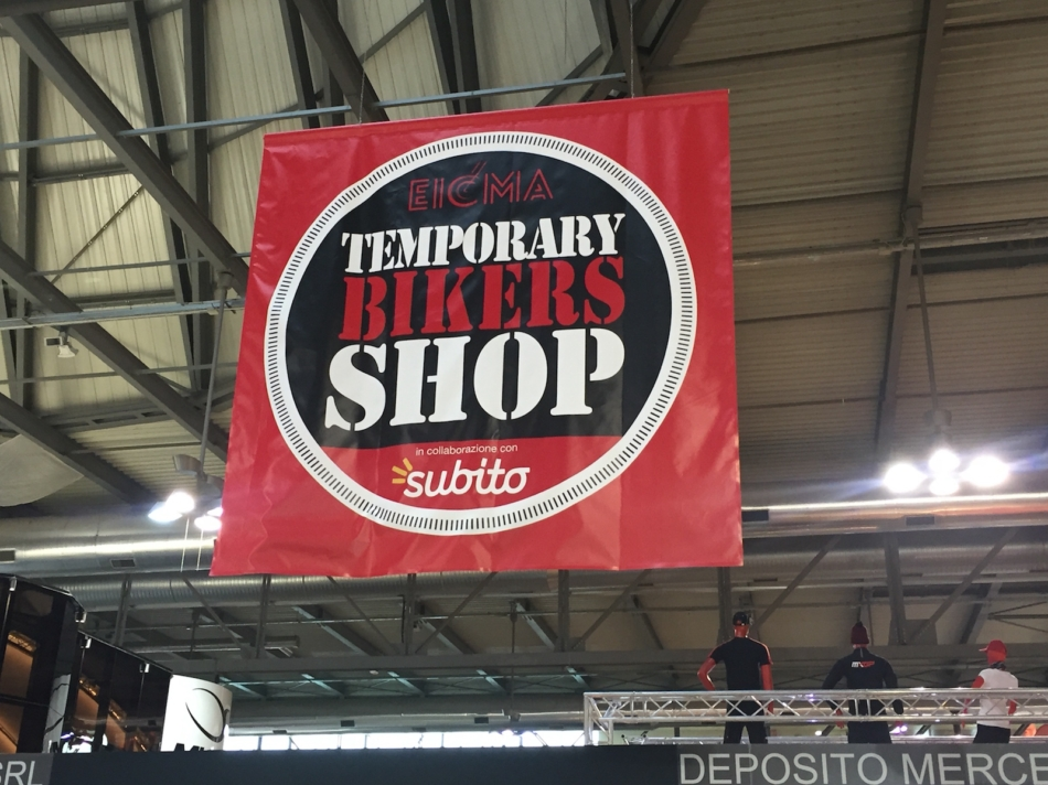 EICMA Temporary Bikers Shop: un paradiso per i bikers  dove comprare di tutto