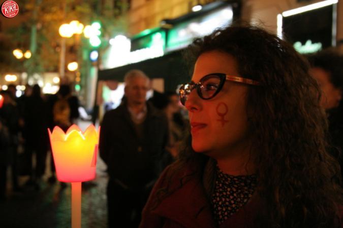 Fiaccolata a Napoli contro la Violenza sulle Donne