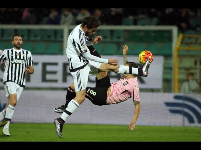 Palermo-Juventus 0-3